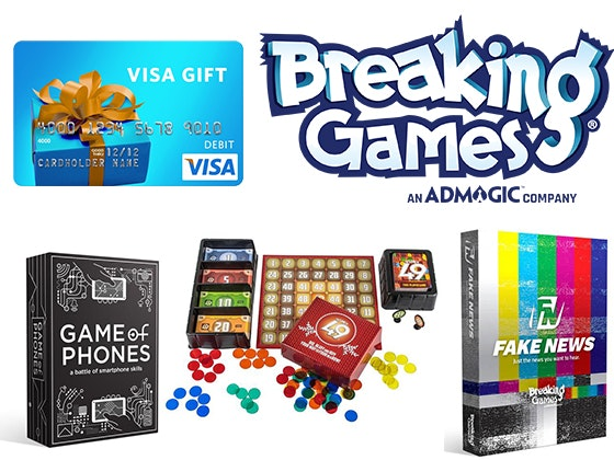 Breaking Games sweepstakes