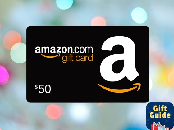 $50 Amazon Gift Card sweepstakes