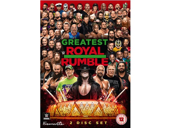 WWE: Greatest Royal Rumble DVD sweepstakes