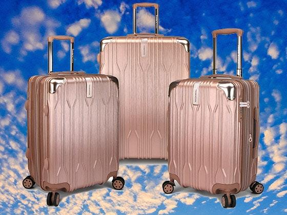 Traveler's Choice Luggage Set sweepstakes