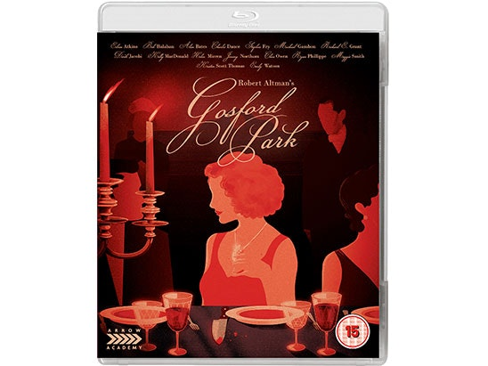 Gosford Park Blu-Ray sweepstakes