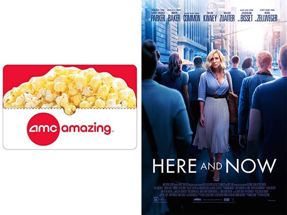 """Here and Now"" Poster & $50 AMC Gift Card sweepstakes"
