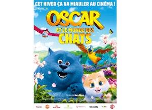 Oscar et le monde des chats affiche
