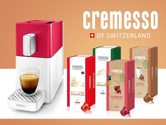 3 x Cremesso Kaffee-Genusspaket Gewinnspiel