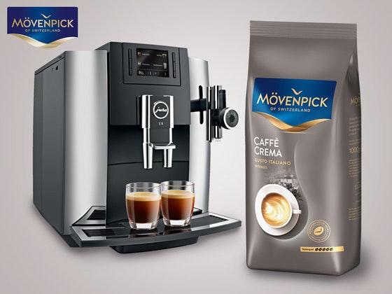 Mövenpick Kaffee & Vollautomat Gewinnspiel
