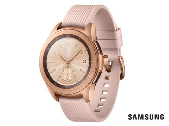 Samsung galaxy watch r810 003 r perspective rose gold kopie