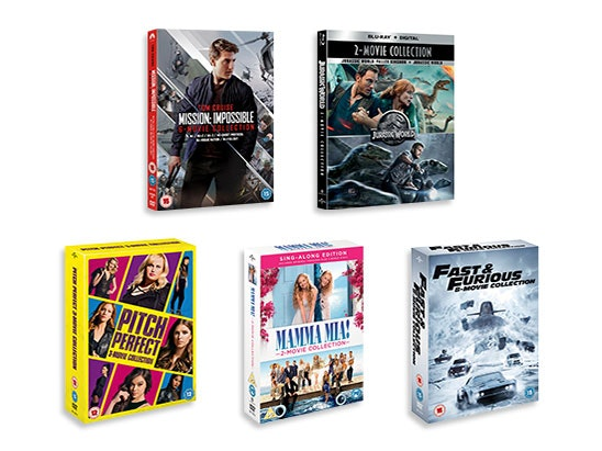 Bundle of Movie Boxsets sweepstakes