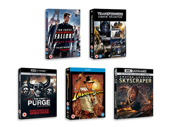 Action Movie DVD Bundle sweepstakes