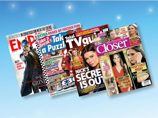 Great Magazine Subscription Bundle worth up to £200 sweepstakes