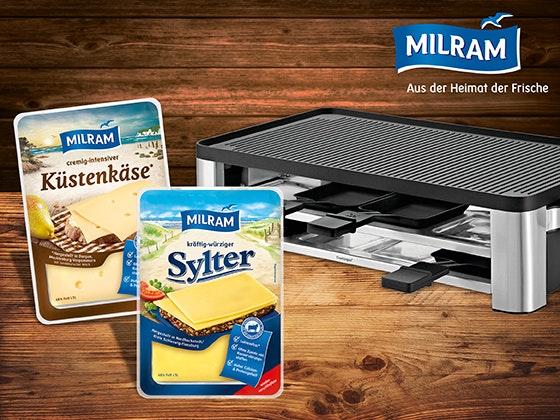 Raclette-Abwechslung mit MILRAM Gewinnspiel