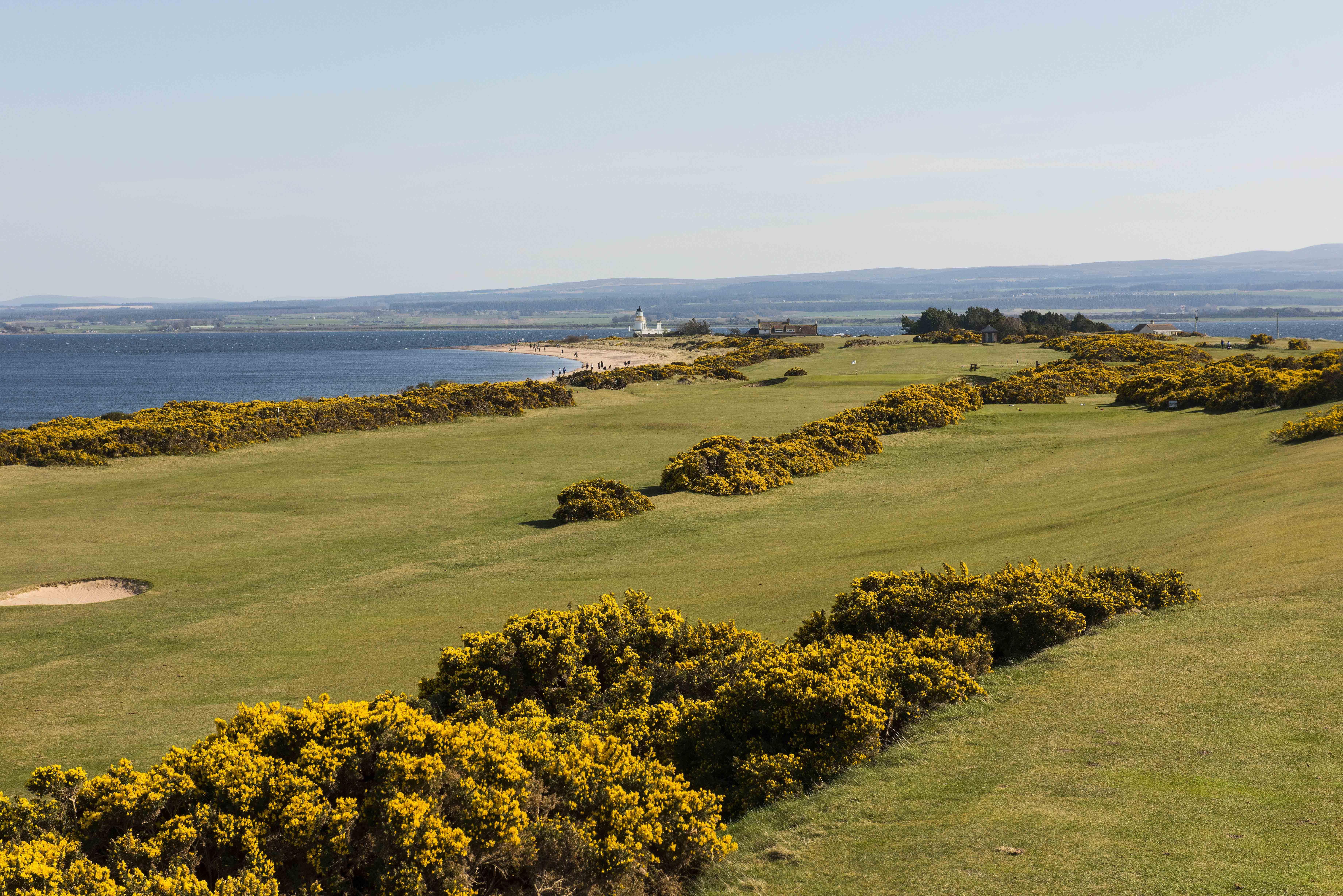 Fortrose   rosemarkie golf links   april 2015
