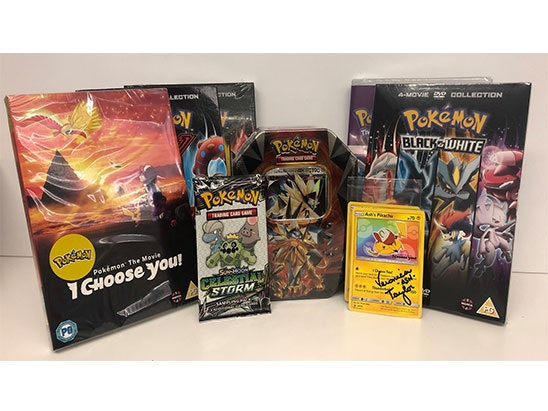 Pokémon Movie Bundle sweepstakes