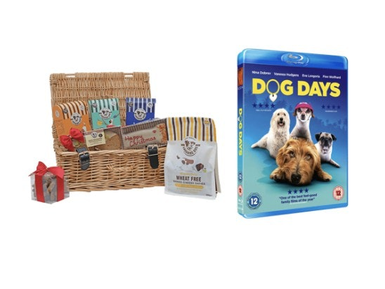 Christmas Dog Hamper and Dog Days Blu-Ray sweepstakes