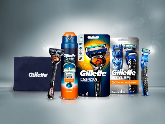 Gillette Rasur-Paket zu gewinnen! Gewinnspiel