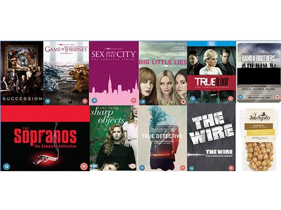DVD Box Set Bundle sweepstakes