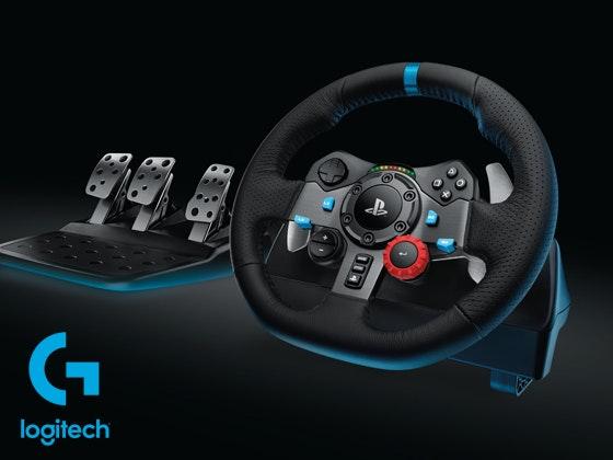 Logitech Racing-Lenkrad gewinnen! Gewinnspiel