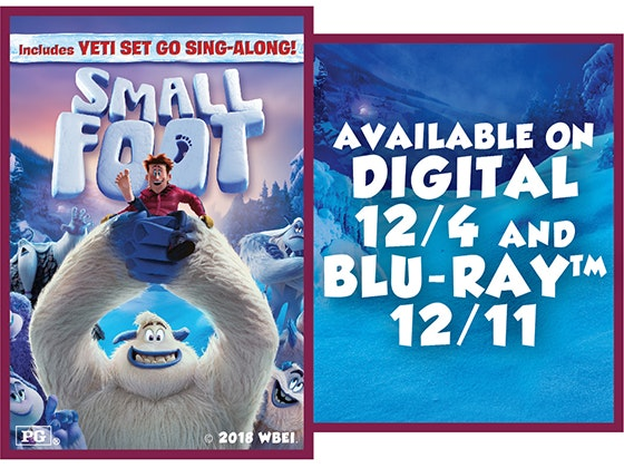 Smallfoot sweepstakes
