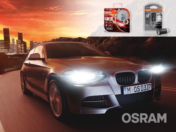 Kraftvolles Lichtpaket von Osram Gewinnspiel