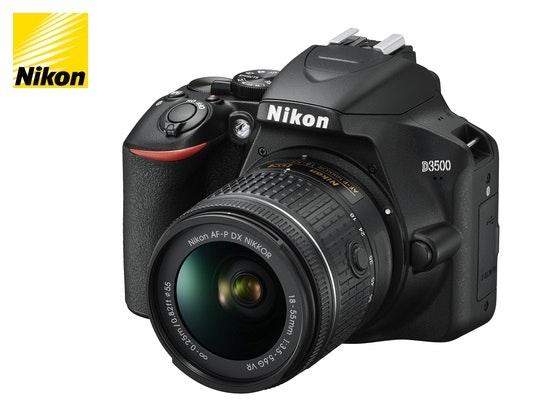 Nikon D3500 + 18–55mm Objektiv Gewinnspiel