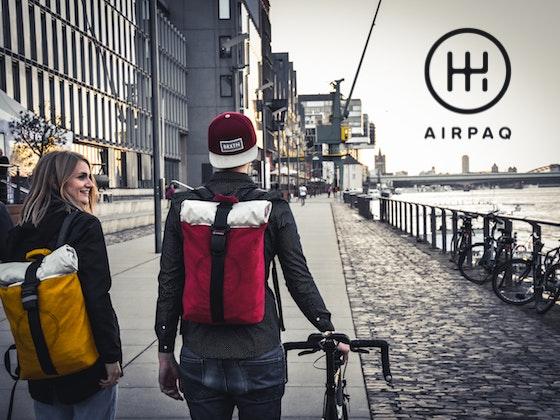 Airpaq Upcycling-Rucksack-Unikat Gewinnspiel