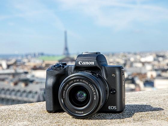 Die Canon EOS M50 Gewinnspiel