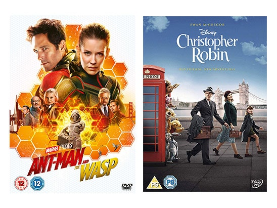 Christopher Robin and Ant-Man and The Wasp sweepstakes