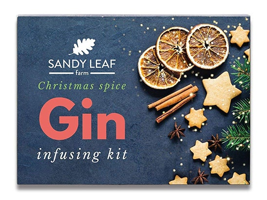 Sandy Leaf Farm Christmas Gin Infusing Kit sweepstakes