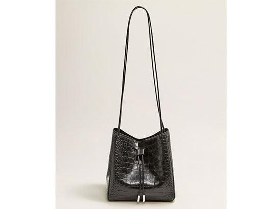 Mango Leather Bucket Bag sweepstakes