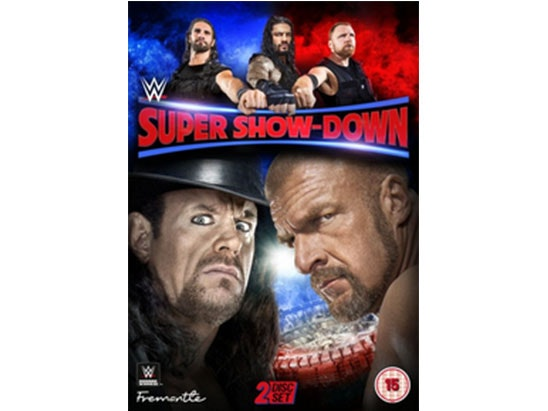 WWE: Super Show-Down DVD sweepstakes
