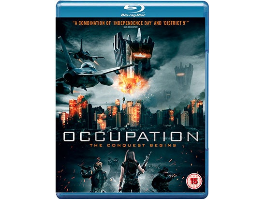 OCCUPATION Blu-Ray sweepstakes
