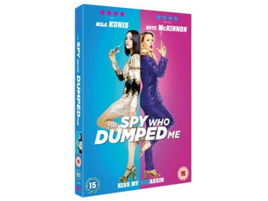 The Spy Who Dumped Me DVD sweepstakes