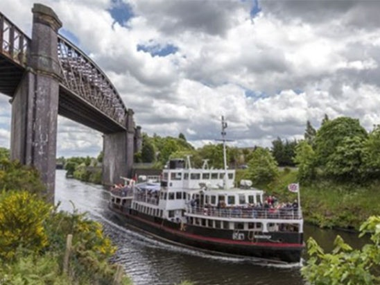 Pair of tickets to the Manchester Ship Canal Cruise sweepstakes
