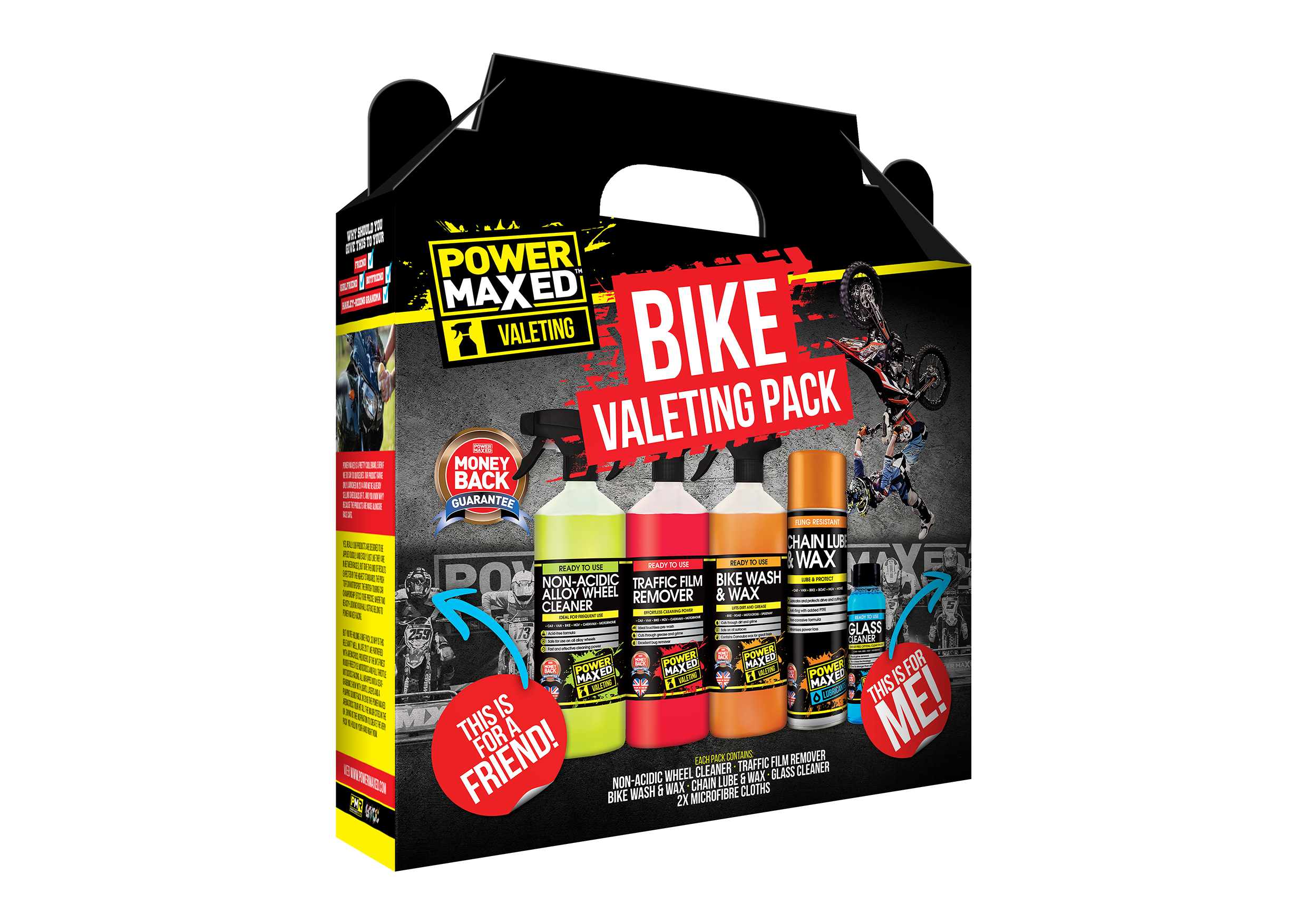 Power Maxed Bike Valeting Pack  sweepstakes
