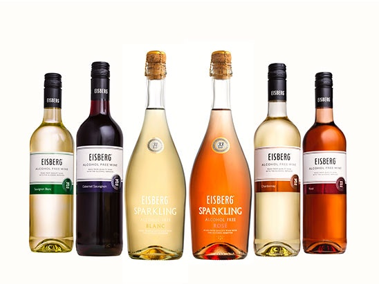 Case of Eisberg Wine and Glasses sweepstakes