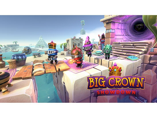 Nintendo Switch and game (Big Crown: Showdown) sweepstakes