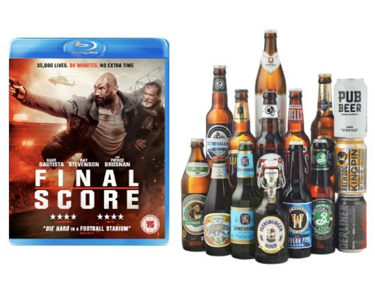 Beers, Signed Poster and Blu-ray of Final Score sweepstakes