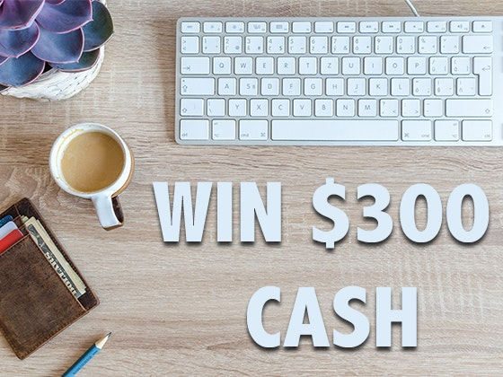 $300 Free Cash Dec-Jan sweepstakes