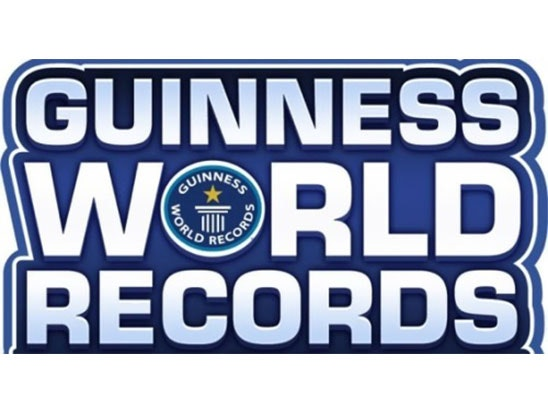 Guinness World Record sweepstakes