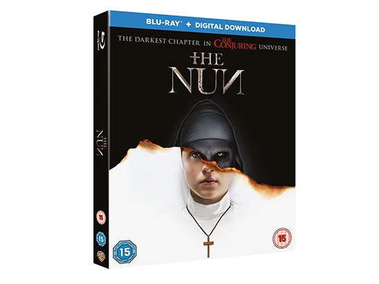The Nun Blu-Ray sweepstakes