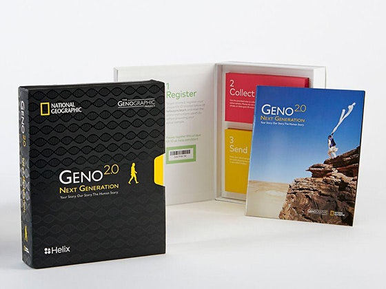 National Geographic Spectacle Book and GENO 2.0 DNA Ancestry Kit! sweepstakes