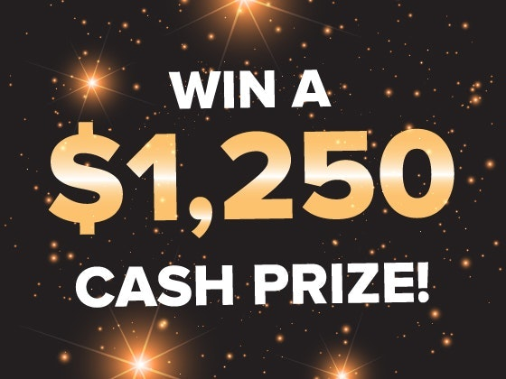 $1250 Cash January 2019 sweepstakes