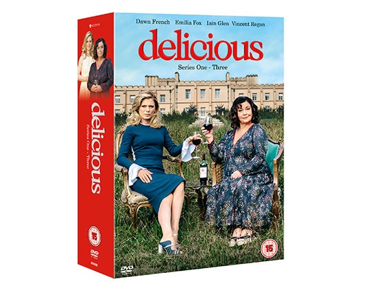 Delicious S1-3 BoxSet DVD sweepstakes