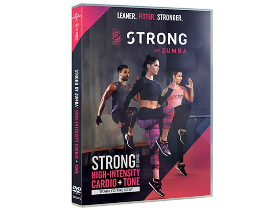 STRONG by Zumba DVD sweepstakes