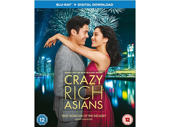 Crazy Rich Asians Blu-Ray™ sweepstakes