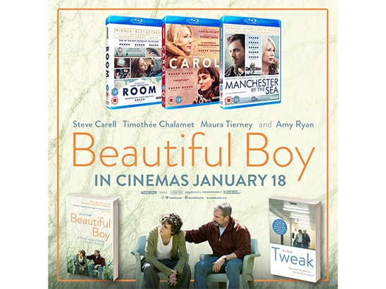 3 Blu-Rays and 2 books sweepstakes