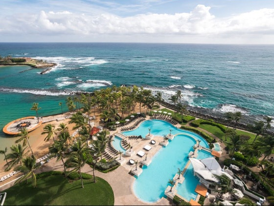 Caribe Hilton in Puerto Rico sweepstakes
