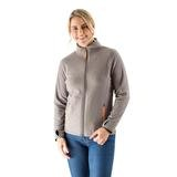 Womens midlayer jacket grey compact