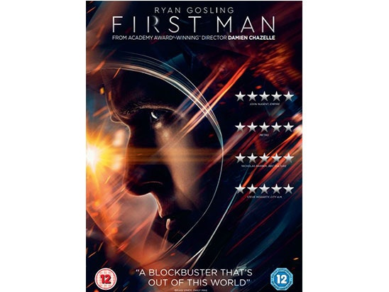 FIRST MAN Screenplay and DVD sweepstakes