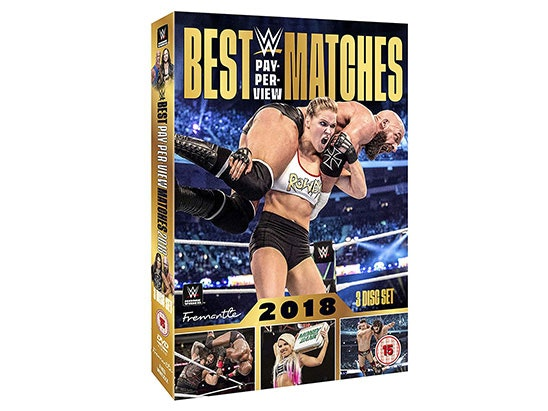 WWE: Best Pay-Per-View Matches 2018 DVD sweepstakes