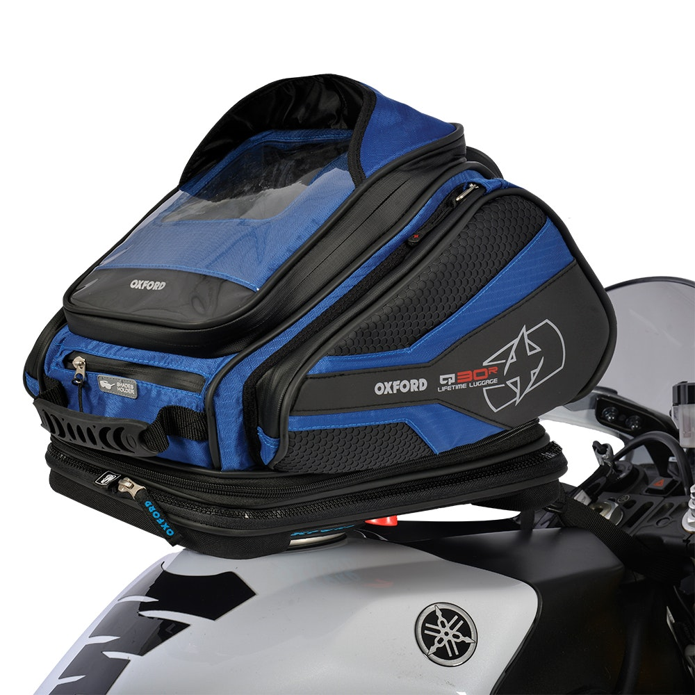Oxford Q30R Tank Bag - Blue sweepstakes